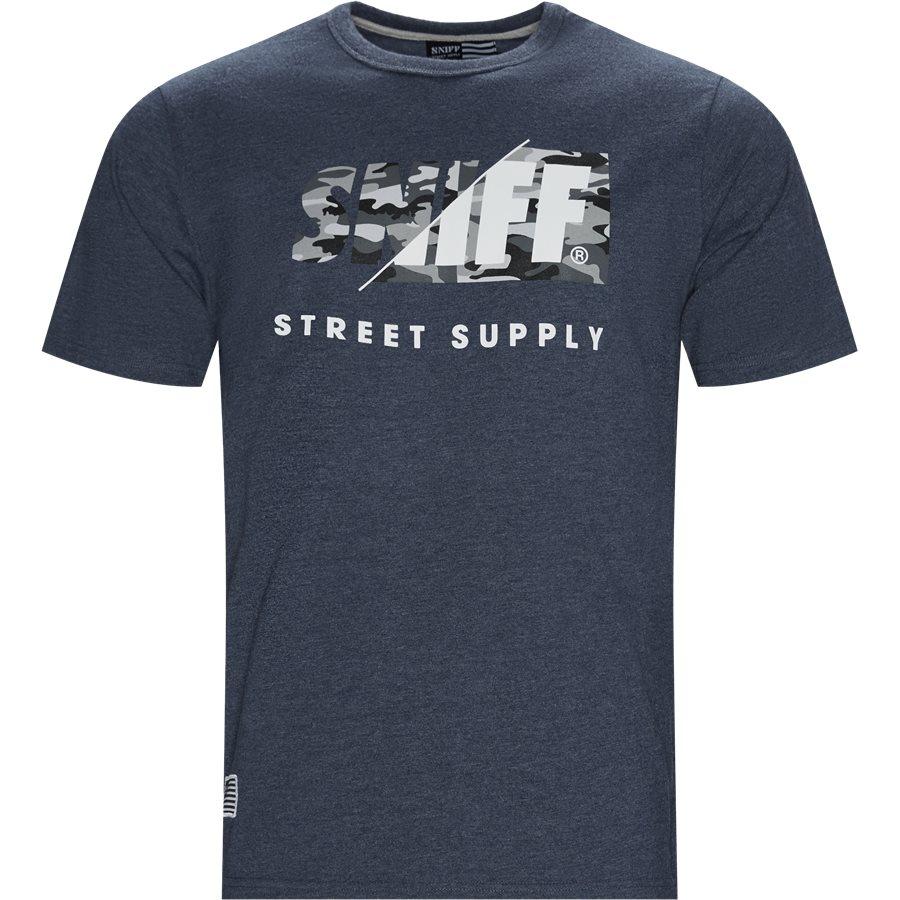 BOSTON - Boston T-shirt - T-shirts - Regular - DENIM / GREY - 1